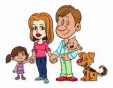 Una familia unida