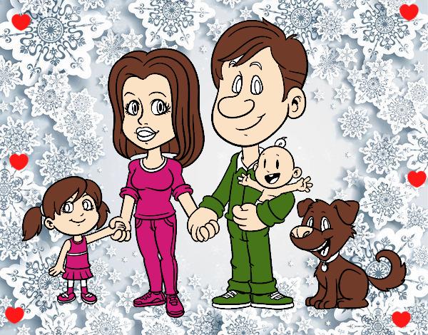 Dibujo Una familia unida pintado por Sosa2005