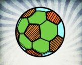 Dibujo Balón de fútbol pintado por 12santi