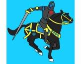 Dibujo Caballero a caballo IV pintado por danielobre