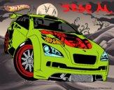 Dibujo Hot Wheels Megane Trophy pintado por Jese555