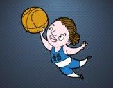 Jugadora de voleibol