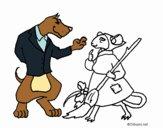 Dibujo La ratita presumida 11 pintado por Albi97