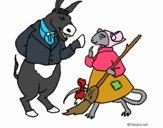 Dibujo La ratita presumida 9 pintado por Albi97