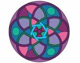 Dibujo Mandala 11 pintado por bonfi