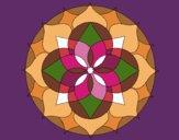 Dibujo Mandala 14 pintado por bonfi