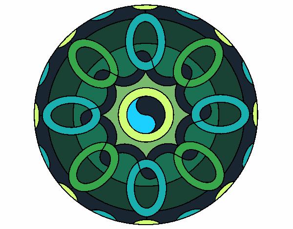 Dibujo Mandala 26 pintado por bonfi