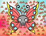 Dibujo Mariposa Emo pintado por nourso