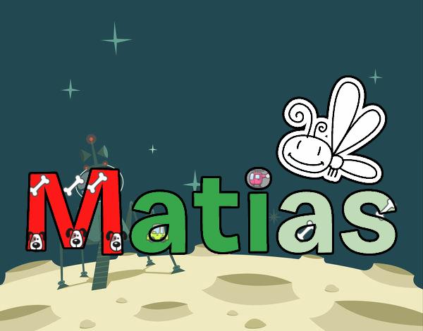 Dibujo Matias pintado por LosPrimos6