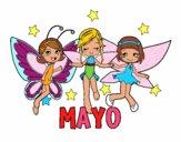 Dibujo Mayo pintado por VAISA