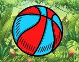 Dibujo Pelota de baloncesto pintado por 12santi