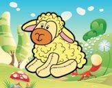 Dibujo Peluche oveja pintado por anahis573