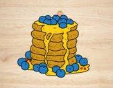 Dibujo Tortitas pintado por viviannico