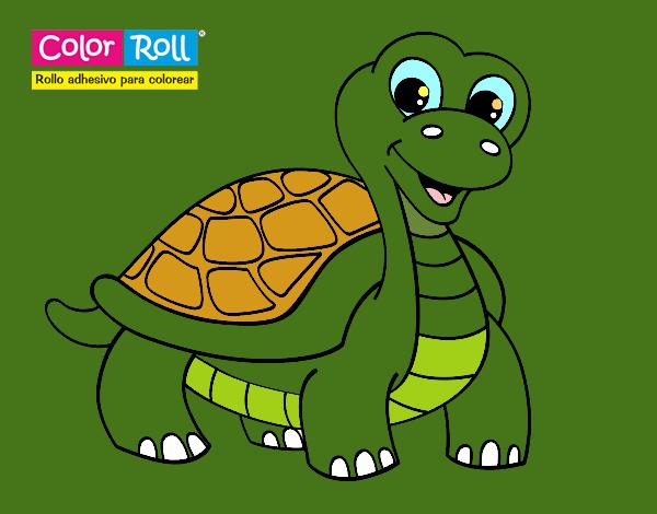 Dibujo de Tortuga Color Roll pintado por Alex80 en Dibujos.net el ...