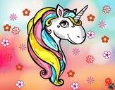 Dibujo Un unicornio pintado por cuyito
