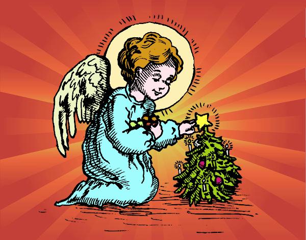 anjel  de   navidad