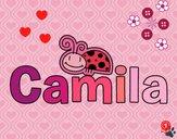 Dibujo Camila pintado por cuyito