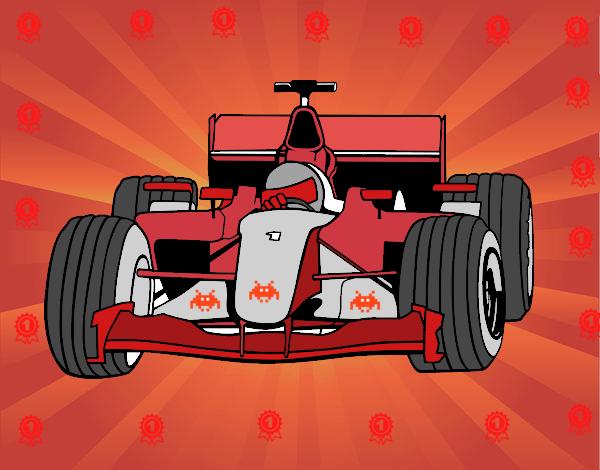 Dibujo Coche de F1 pintado por gransamuel