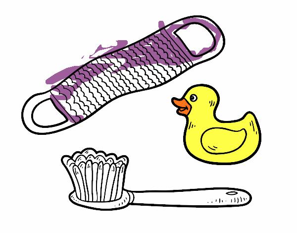 Dibujo de utensilios de ducha pintado por en el d a 06 10 17 a las 21 27 51 imprime - Utensilios bano ...