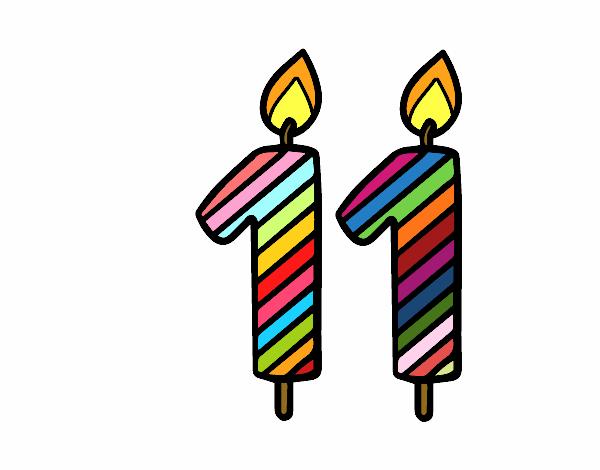 Dibujo de 11 a os pintado por en el d a 09 10 - Fiesta cumpleanos 8 anos ...