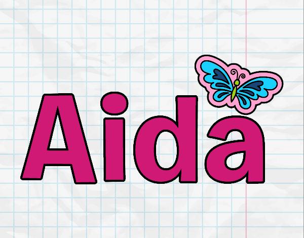 Dibujo Aida pintado por gav007a