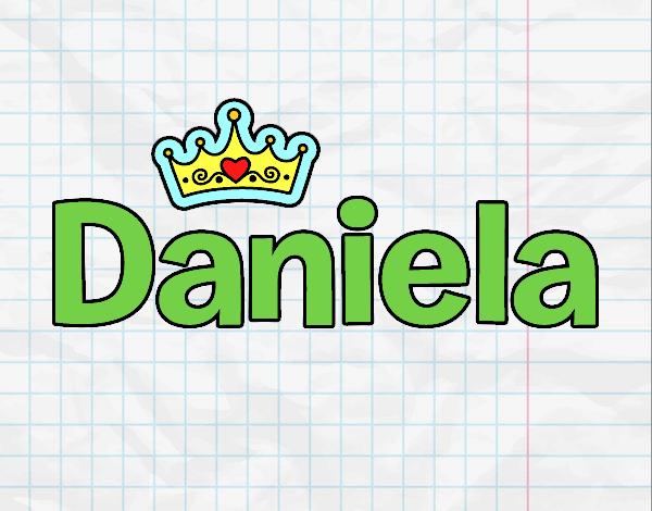 Dibujo Daniela pintado por gav007a