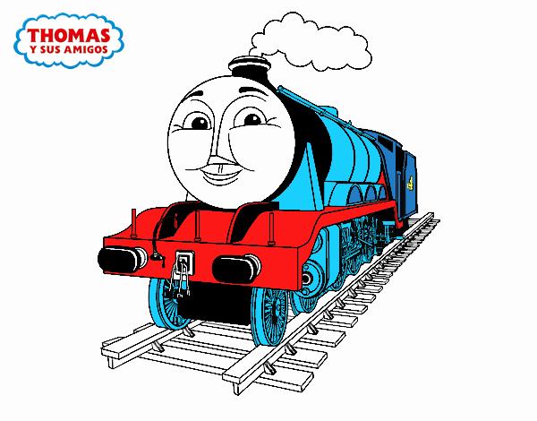 Entra el en mundo de juegos y diversin de Thomas y sus amigos