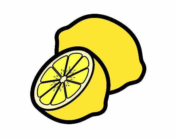 Dibujo Limones pintado por albabm24