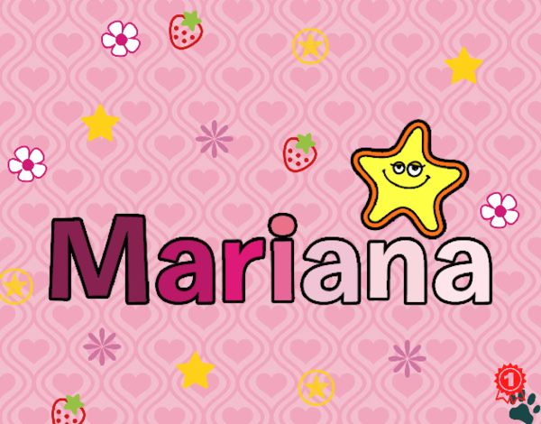 Dibujo Mariana pintado por cuyito