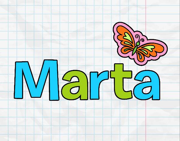 Dibujo Marta pintado por gav007a