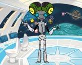 Robot Cabezón