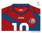 Camiseta del mundial de fútbol 2014 de Costa Rica