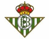 Dibujo Escudo del Real Betis Balompié pintado por quimi33