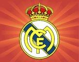 Dibujo Escudo del Real Madrid C.F. pintado por DEMATTEUZ