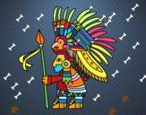 Guerrero azteca