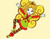 Hada duende de Navidad