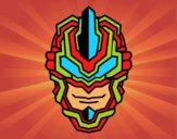 Dibujo Máscara robot pintado por elwaht