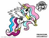 Dibujo Princess Celestia pintado por mica635