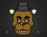 Dibujo Cara de Freddy de Five Nights at Freddy's pintado por Joseito123