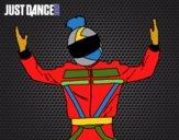 Chico motorista Just Dance
