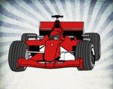 Dibujo Coche de F1 pintado por Joseito123