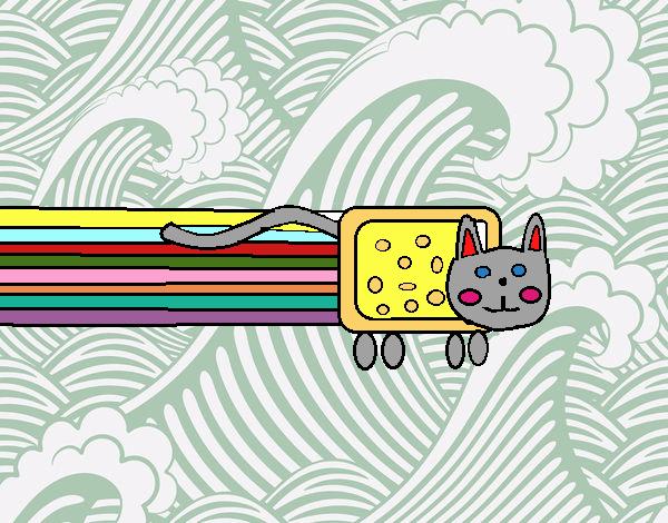 el gato volador haha