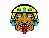 Dibujo Máscara azteca pintado por Francis_XD