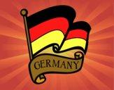 Dibujo Bandera de Alemania pintado por DEMATTEUZ