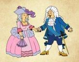 Dibujo Conde y condesa pintado por lizbeth_ma