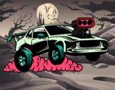 Dibujo Deportivo muscle car pintado por DEMATTEUZ