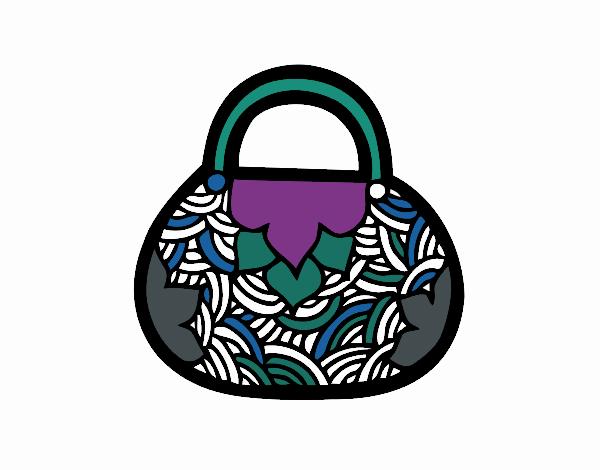 Dibujo Mini bolso de inspiración japonesa pintado por popida
