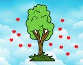 Dibujo Un árbol de parque pintado por Julieta344