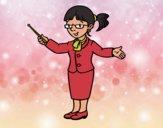 Una profesora