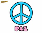 Dibujo Círculo de la paz pintado por glorisvett